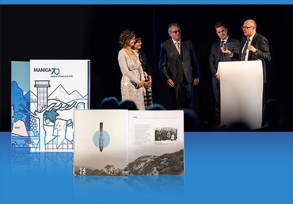Foto dall'evento per i 70 anni di Manica